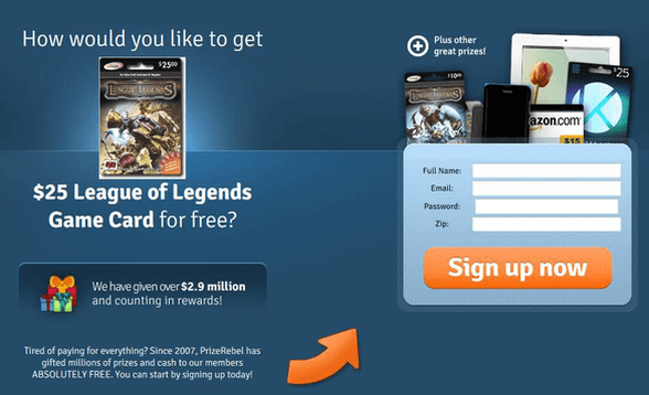 Free RP - How To Get Free Riot Points For League of Legends
