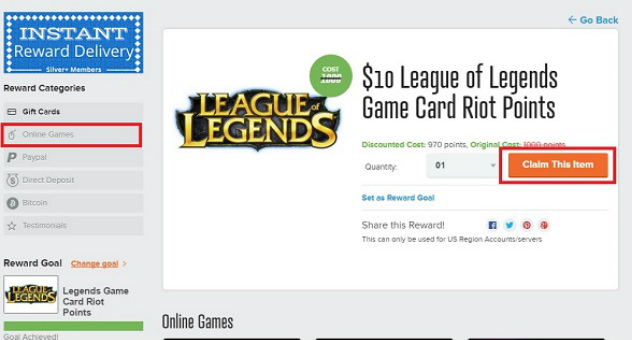 League of legends rp code giveaways